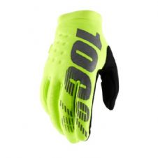 100% 2019 Brisker Cold Weather Glove Fluo Yellow